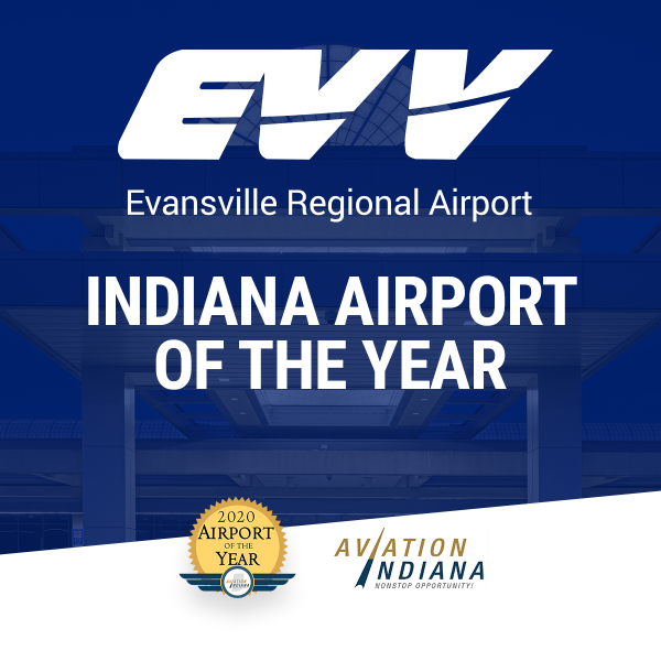 "Evansville Regional Airport Named ""Indiana Airport of the Year"""