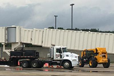 New Jet Bridge Installed at Evansville Regional Airport