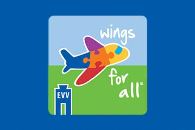 Wings for All® Lands at Evansville Regional Airport